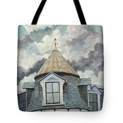 Crack The Sky Tote Bag