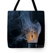 Cracked Bulb Tote Bag