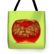 Cracked Glass 2 Tote Bag