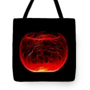 Cracked Glass Tote Bag