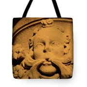 Cracked God Tote Bag