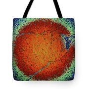 Cracked Sun Tote Bag