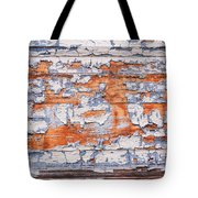 Cracked Wood Paint Tote Bag