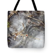 Crackling Ice I Tote Bag