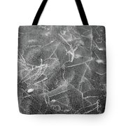 Cracks In Mountain Ice Tote Bag