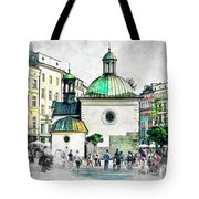 Cracow Art 3 Tote Bag