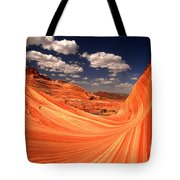 Cradled By A Wave Tote Bag