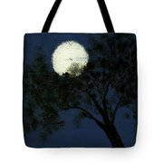 Cradling The Moon Tote Bag