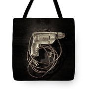 Craftsman Drill Motor Bs On Black Tote Bag