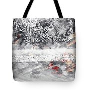 Cranberries In Winter Tote Bag