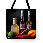 Cranberry And Fruit Tote Bag