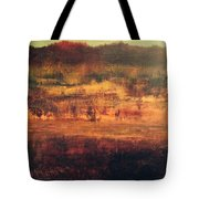 Cranberry Fields In November Tote Bag