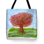 Cranberry Melody Tote Bag