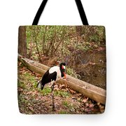 Crane And Canoe Tote Bag