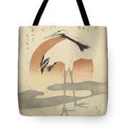 Crane For The First Sunrise Of The Year, Totoya Hokkei, C. 1821 Tote Bag