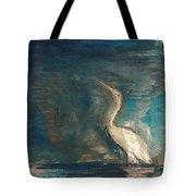 Crane Tote Bag by Gregory Dallum