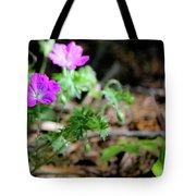 Cranesbill Tote Bag