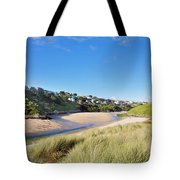 Crantock And The Gannel Tote Bag