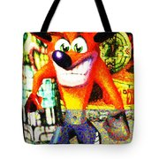 Crash Bandicoot Tote Bag
