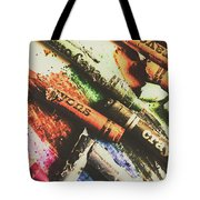 Crash Test Crayons Tote Bag