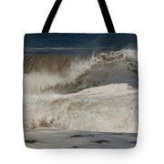 Crashing - Jersey Shore Tote Bag