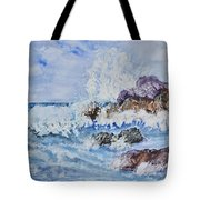 Crashing Wave IIi Tote Bag