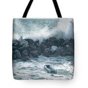 Crashing Waves Tote Bag