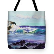 Crashing Waves Tote Bag