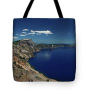Crater Lake A Caldera Lake  Tote Bag