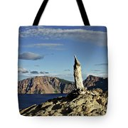 Crater Lake In The Southern Cascades Of Oregon Tote Bag by Christine Till