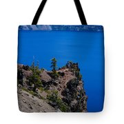 Crater Lake Point Overlook Tote Bag