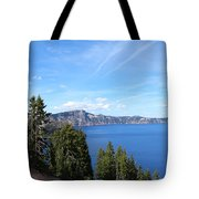 Crater Lake View  Tote Bag