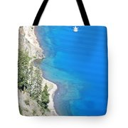 Crator Lake Shore Tote Bag