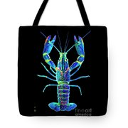 Crawfish In The Dark - Blublue Tote Bag