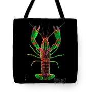 Crawfish In The Dark - Greenred Tote Bag