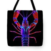Crawfish In The Dark-  Redblue Tote Bag
