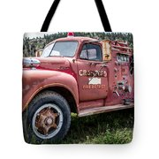 Crawford Fire Truck  Tote Bag