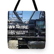 Crawler Crane Hire In London And Kent Tote Bag