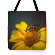 Crawling June Beetle Tote Bag