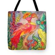 Crazy Bird 1 Tote Bag
