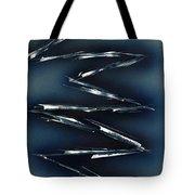 Crazy Cobalt Blue Tote Bag