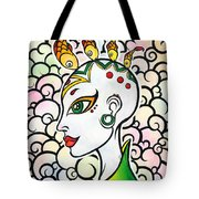 Crazy Creative Girl Tote Bag