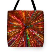 Crazy Fun Colorful Abstract Tote Bag