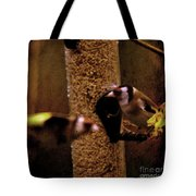 Crazy Goldfinch Tote Bag