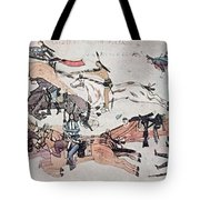 Crazy Horse At The Battle Of The Little Tote Bag
