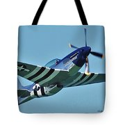 Crazy Horse From Air Show Tote Bag