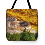 Crazy Horse Monument Pa Tote Bag