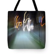 Crazy Lights Tote Bag