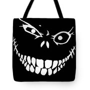 Crazy Monster Grin Tote Bag