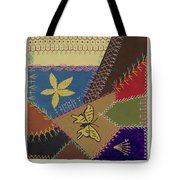 Crazy Quilt (section) Tote Bag